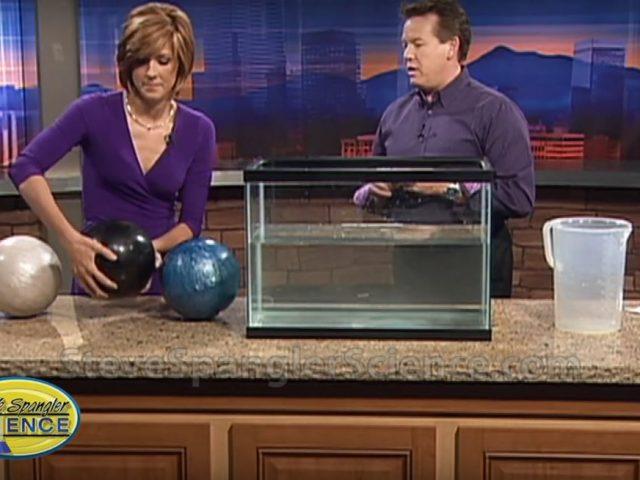 Floating Bowling Balls